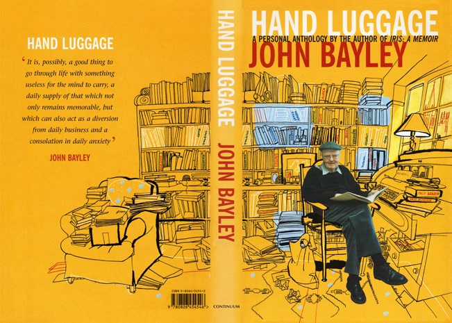 lucinda rogers john bayley book jacket illustration hand luggage