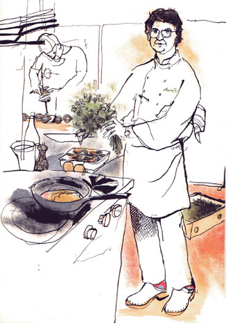 lucinda rogers restaurant illustration shaun hill